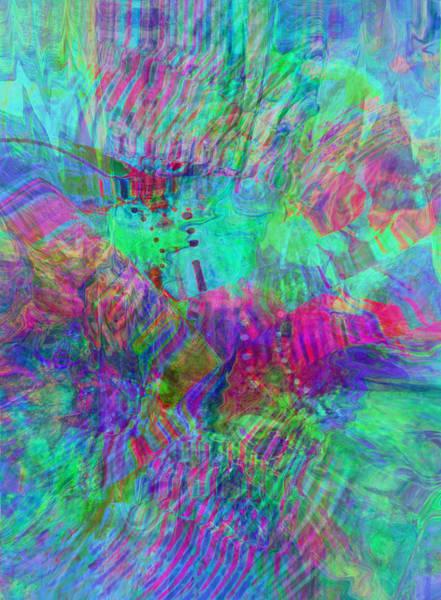 Digital Art - Merged 1 by Kate Word