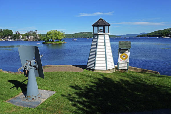 Photograph - Meredith Nh Canon And Lighthouse Lake Winnepesaukee by Toby McGuire