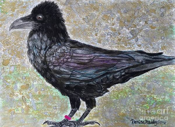 Painting - Merlina by Denise Railey