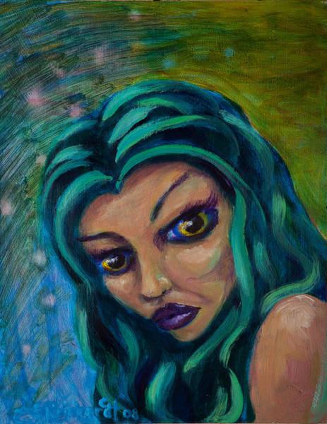 Painting - Mermaid by Jason Reinhardt