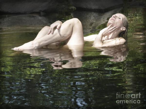 Photograph - Mermaid by Marat Essex