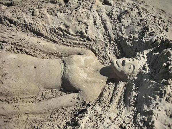Photograph - Mermaid Of The Sand by Jani Freimann
