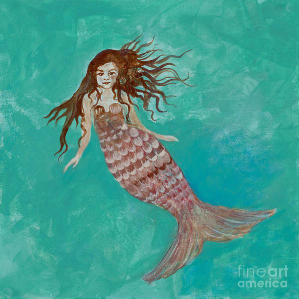 Painting - Mermaid by Robin Maria Pedrero
