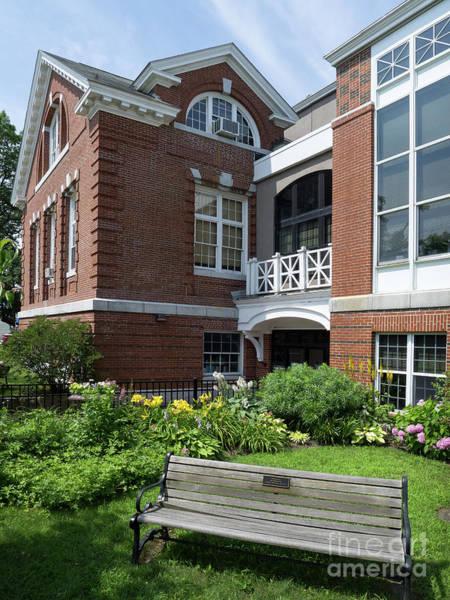 Photograph - Merrill Memorial Library, Yarmouth, Maine #60140 by John Bald
