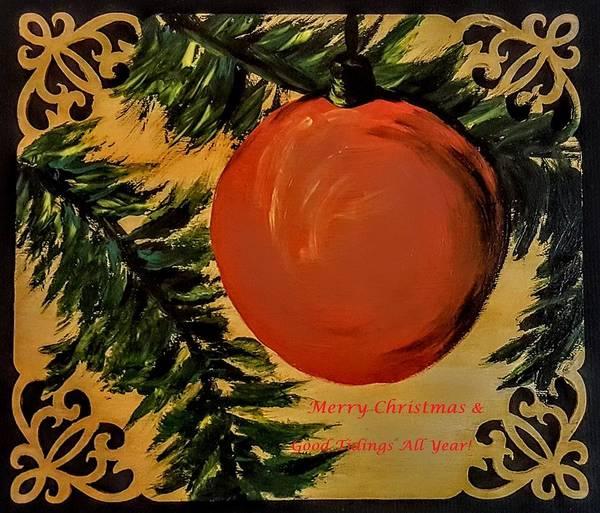 Painting - Merry Christmas                 77 by Cheryl Nancy Ann Gordon