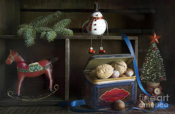 Tin Box Photograph - Merry Christmas 2 by Elena Nosyreva