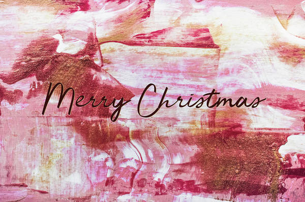 Photograph - Merry Christmas 3 by Andrea Anderegg