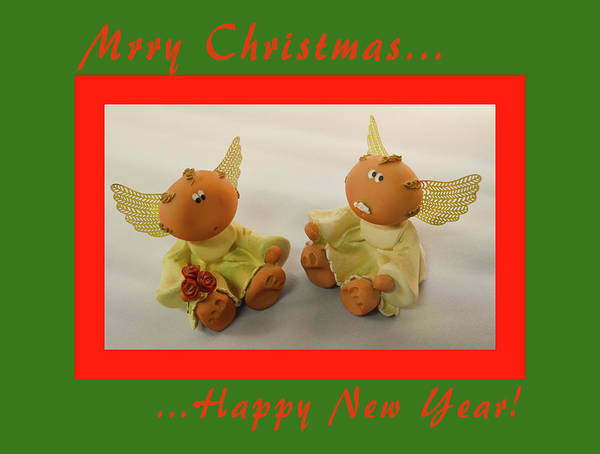 Photograph - Merry Christmas Angels  by Floyd Snyder