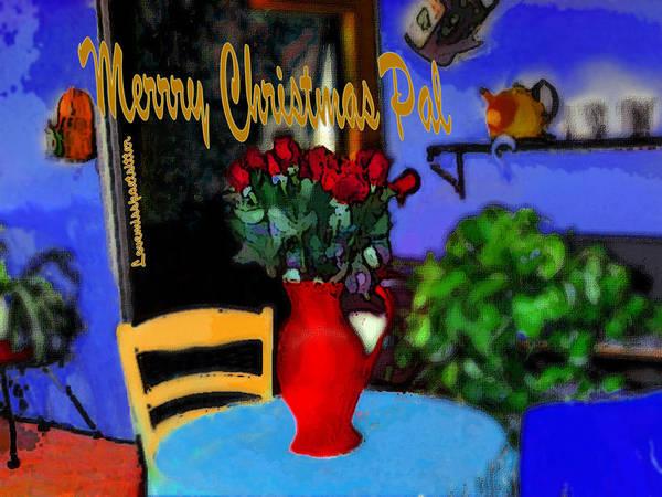 Digital Art - Merry Christmas Art 16 by Miss Pet Sitter