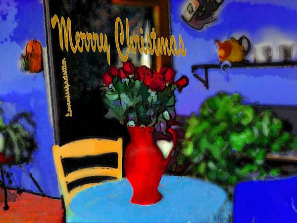 Digital Art - Merry Christmas Art 17 by Miss Pet Sitter
