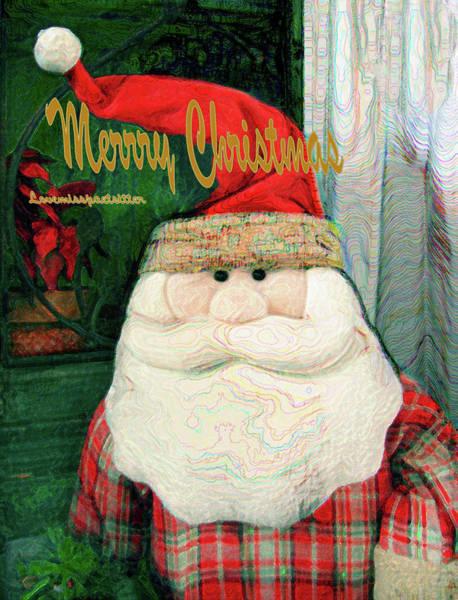 Digital Art - Merry Christmas Art 25 by Miss Pet Sitter