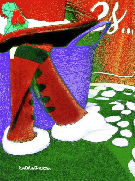 Digital Art - Merry Christmas Art 34 by Miss Pet Sitter