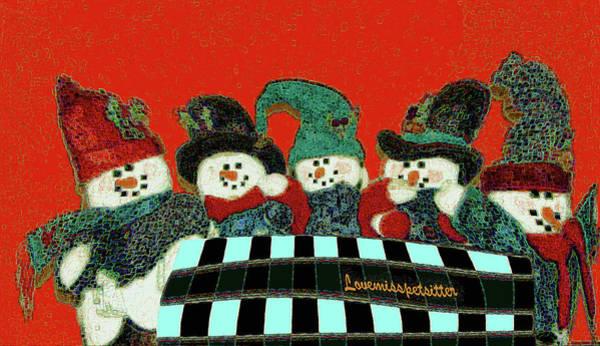Digital Art - Merry Christmas Art 44 by Miss Pet Sitter