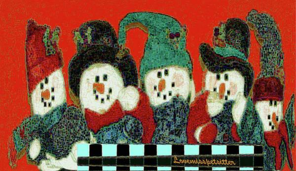 Digital Art - Merry Christmas Art 46 by Miss Pet Sitter