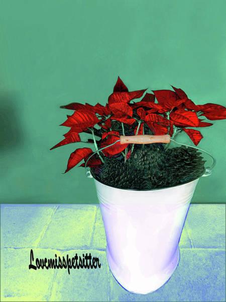Digital Art - Merry Christmas Art 48 by Miss Pet Sitter