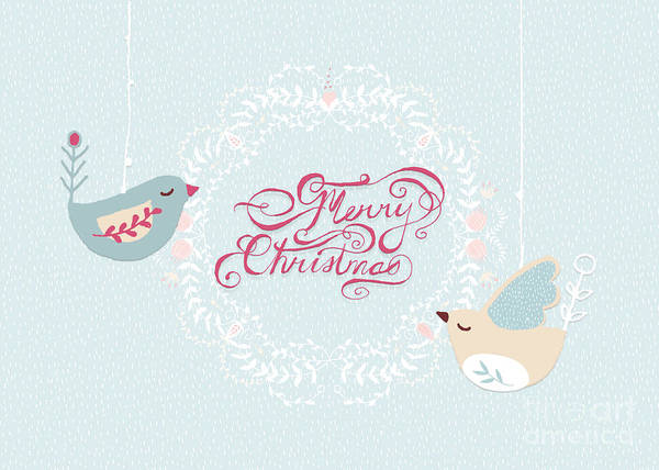 Photograph - Merry Christmas Birdies by Pam  Holdsworth