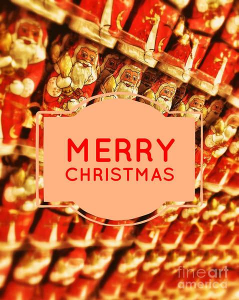Photograph - Merry Christmas Card by Edward Fielding