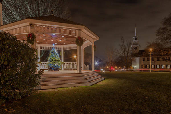Photograph - Merry Christmas From Milton Massachuetts by Brian MacLean
