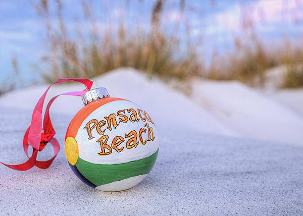 Wall Art - Photograph - Merry Christmas From Pensacola by JC Findley