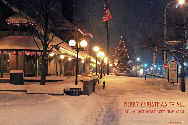 Photograph - Merry Christmas To All And A Safe And Happy New Year by Bonnie Follett