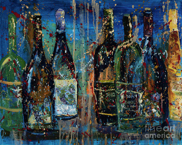 Impressionistic Vineyard Wall Art - Painting - Merry Edwards Winery by Jodi Monahan
