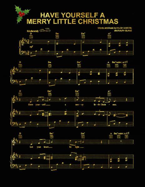 Christmas Digital Art - Merry Little Christmas 3 by Art Spectrum