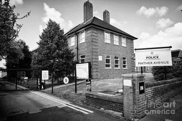 Wall Art - Photograph - Merseyside Police Training School Mather Avenue Liverpool Merseyside England Uk by Joe Fox