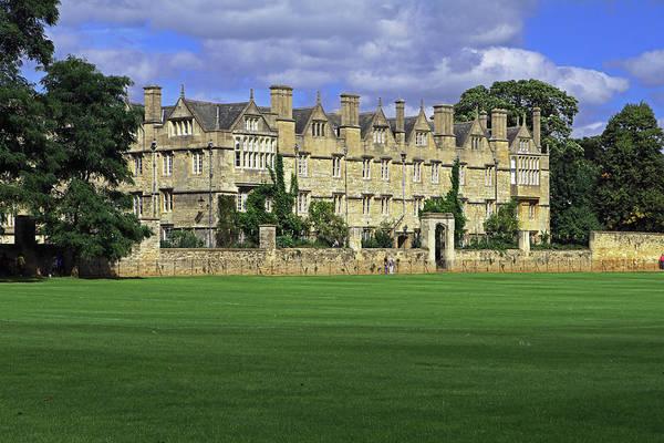 Photograph - Merton College by Tony Murtagh