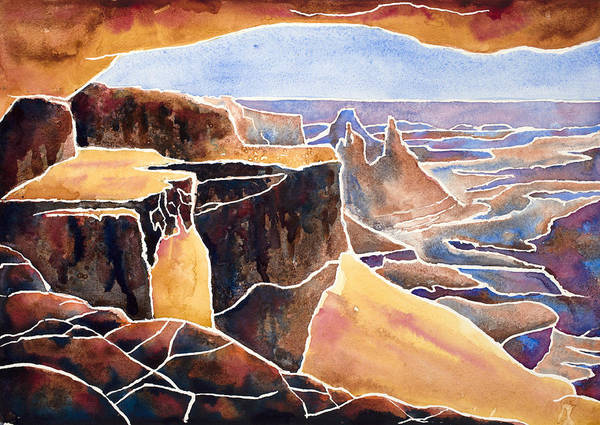 Painting - Mesa Arch Iv by Mary Giacomini