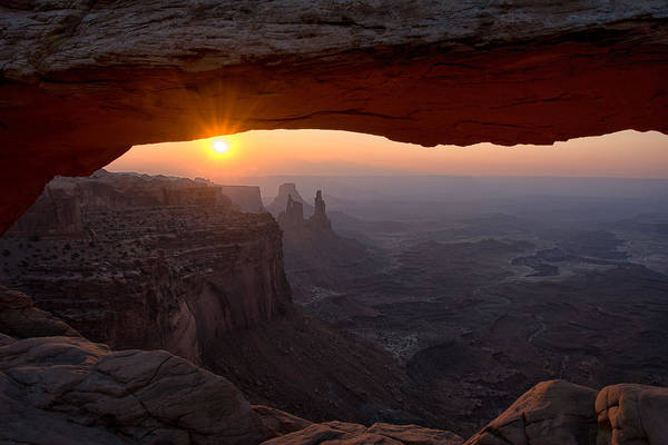 Photograph - Mesa Arch Sunrise by Darlene Bushue