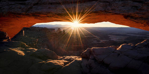 Beautiful Park Photograph - Mesa Glow by Chad Dutson