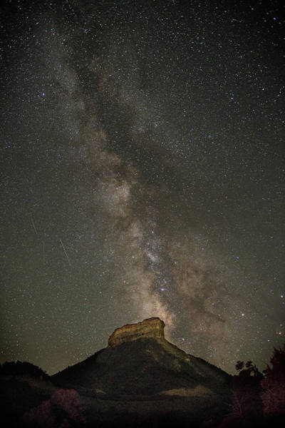 Photograph - Mesa Verde Milky Way by Bud Simpson