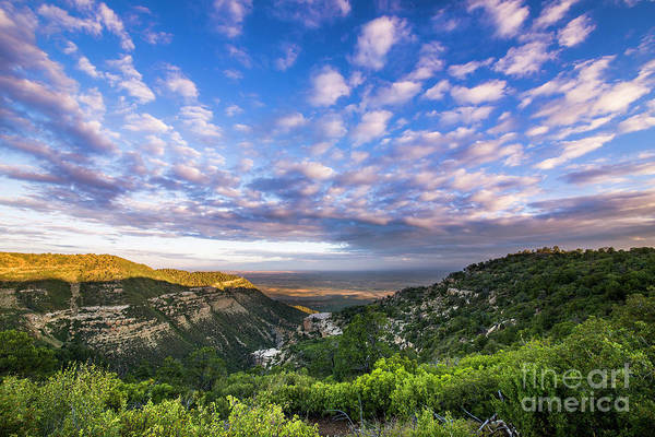 Verde Photograph - Mesa Verde Morning Clouds by Twenty Two North Photography