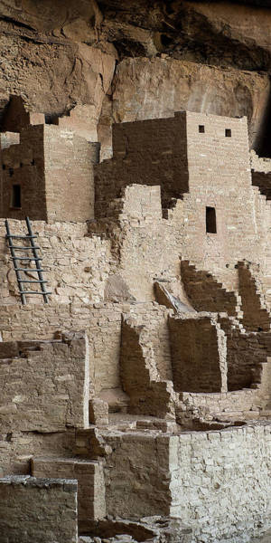 Photograph - Mesa Verde Triptych Panel No. 2 by Bud Simpson