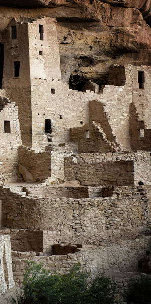 Photograph - Mesa Verde Triptych Panel No.3 by Bud Simpson