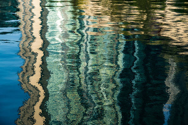 Mesmerizing Abstract Reflections Two Art Print