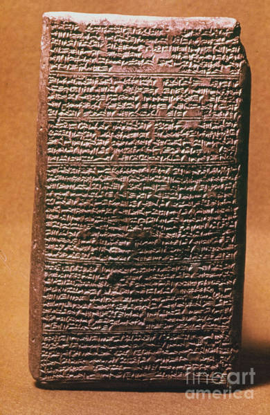 Photograph - Mesopotamian Cuneiform by Granger