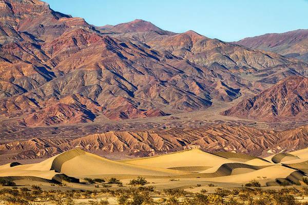 Photograph - Mesquite Flat Sand Dunes #3 - Death Valley by Stuart Litoff