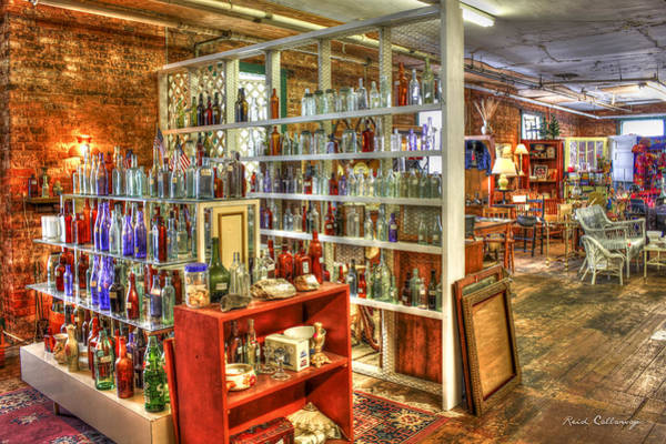 Wall Art - Photograph - Message In A Bottle Greensboro Antique Mall by Reid Callaway