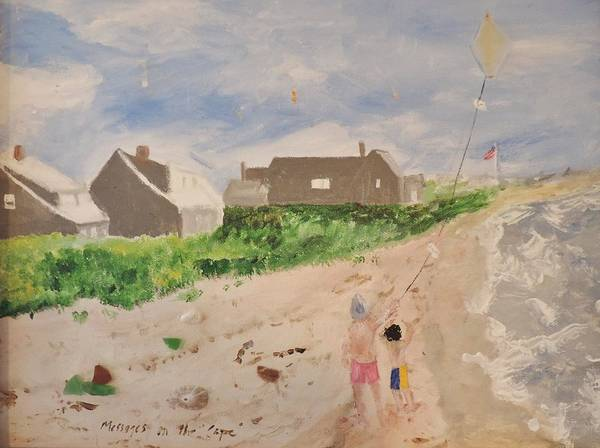 Painting - Messages On The Cape by Jean Forman