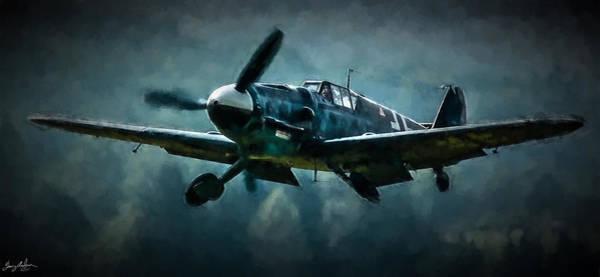 Wall Art - Digital Art - Messerschmitt Bf-109 Intercept In Oil by Tommy Anderson