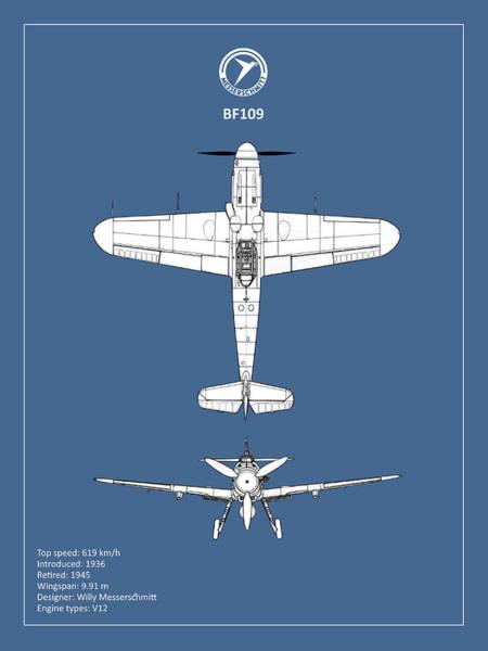 Wall Art - Photograph - Messerschmitt Bf 109 by Mark Rogan