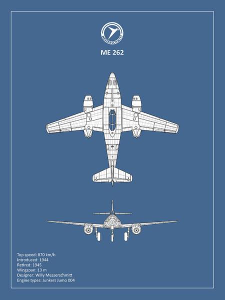 Wall Art - Photograph - Messerschmitt Me 262 by Mark Rogan