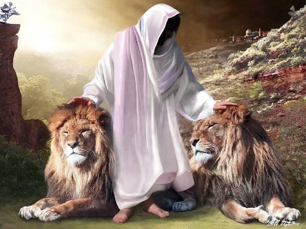 Jewish Digital Art - Messiah Israel And Judah by Bill Stephens