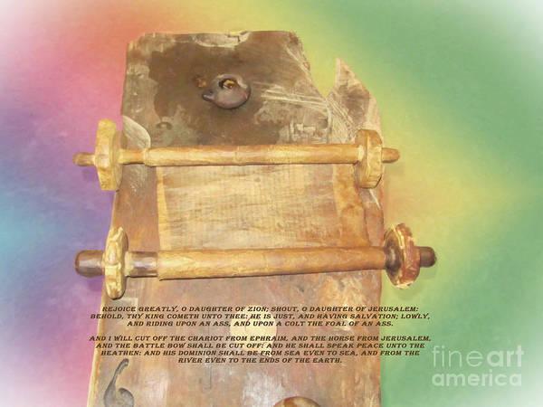 Digital Art - Messiah Prophecy by Donna L Munro