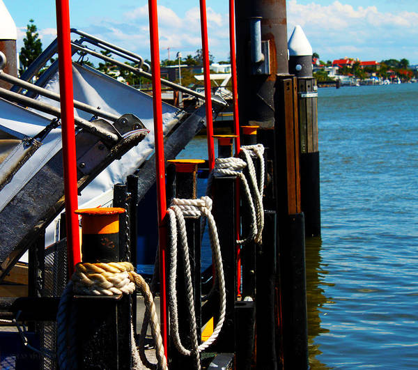 Photograph - Messing Around In Boats In Mystic Conneticut by Susan Vineyard