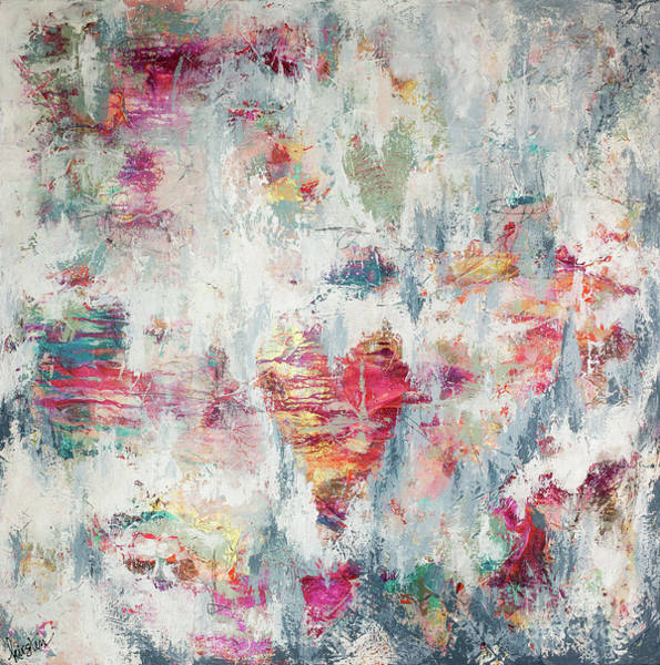 Wall Art - Painting - Messy Love by Kirsten Reed