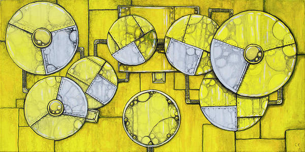 Wall Art - Painting - Metal Drumset by Chase Fleischman