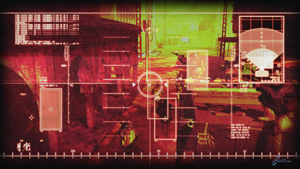 Artwork Digital Art - Metal Gear by Maye Loeser