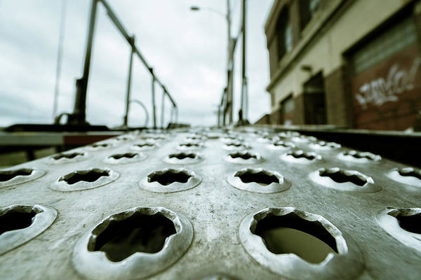 Photograph - Metal Path by Christopher Brown